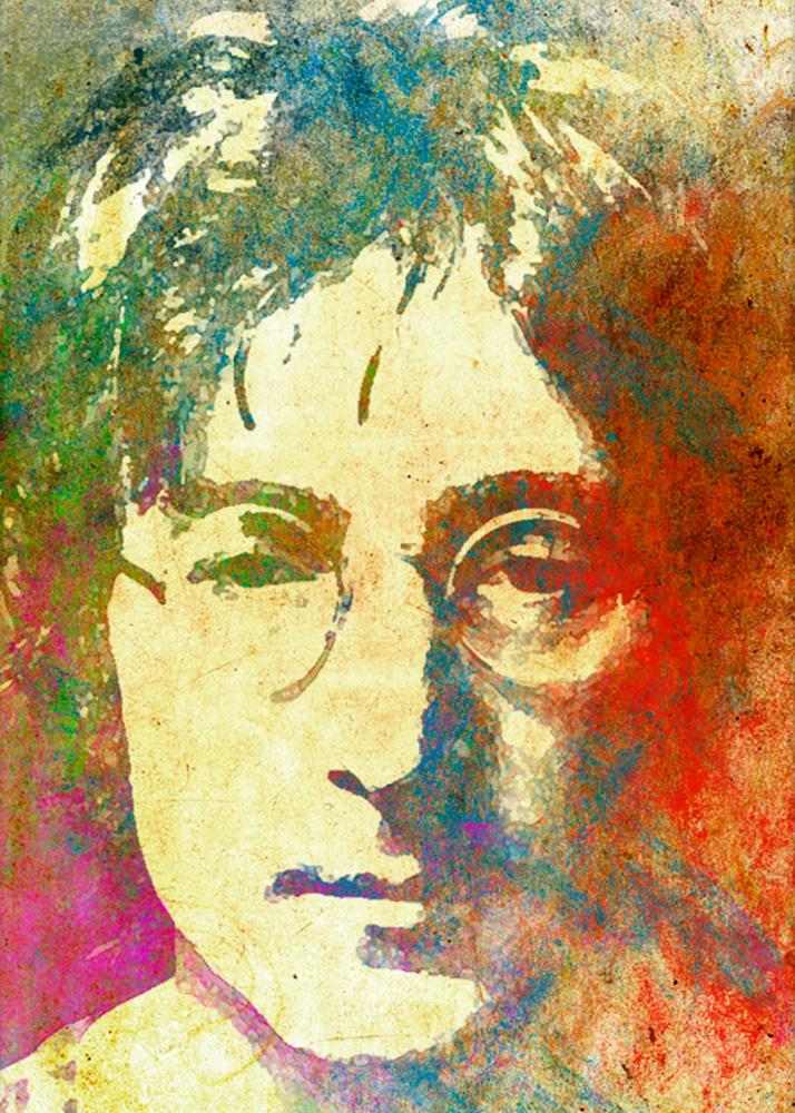 Гранж портрет на заказ в студии печати Рафаэль