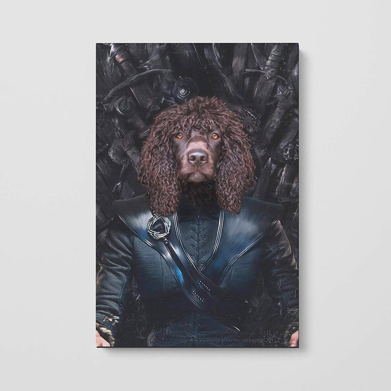 Портрет живот в образе Игры престолов на заказ