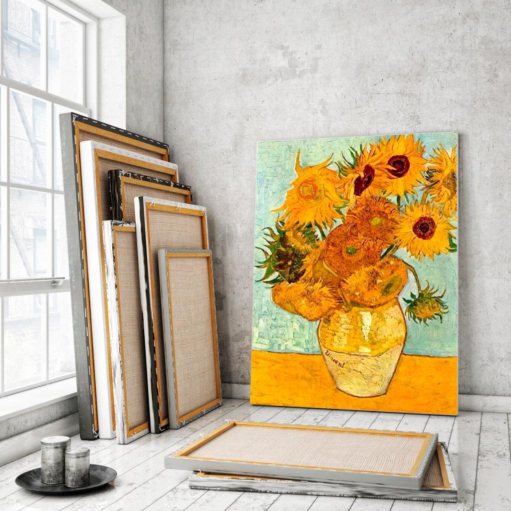 Печать картин на холсте в Рафаэль студии