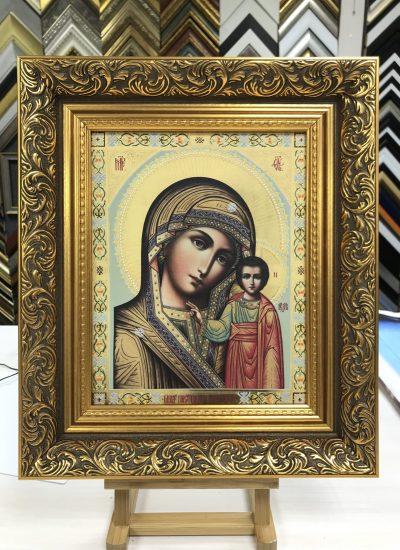 Печать икон на холсте в СПб