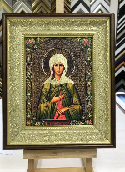 Печать икон на холсте в Рафаэль студии